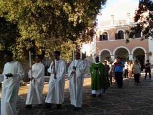 esaltazione della croce - un momento della processione