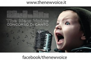 The new voice locandina