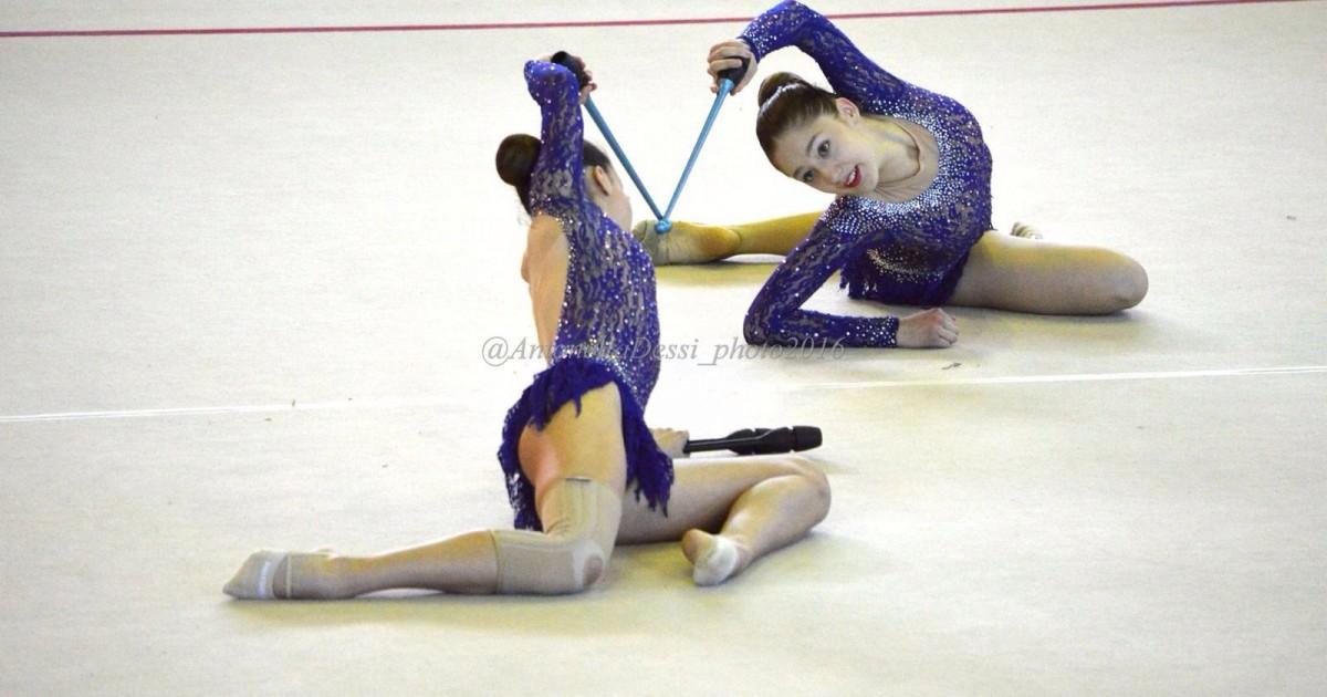 Campionato nazionale di ginnastica ritmica fondi sul