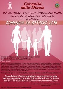 Marcia donne prevenzione tumore seno 2016
