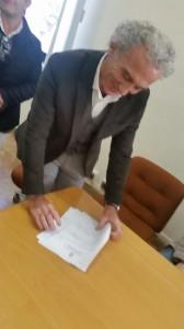 La firma del Sindaco Coletta