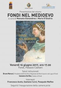 70x100 Fondi nel Medioevo