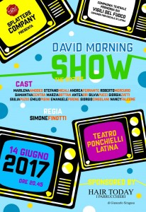 Locandina David Morning Show
