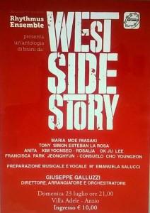 Locandina westsidestory