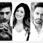 Pierluigi Polisena, Samantha Centra e Simone Finotti