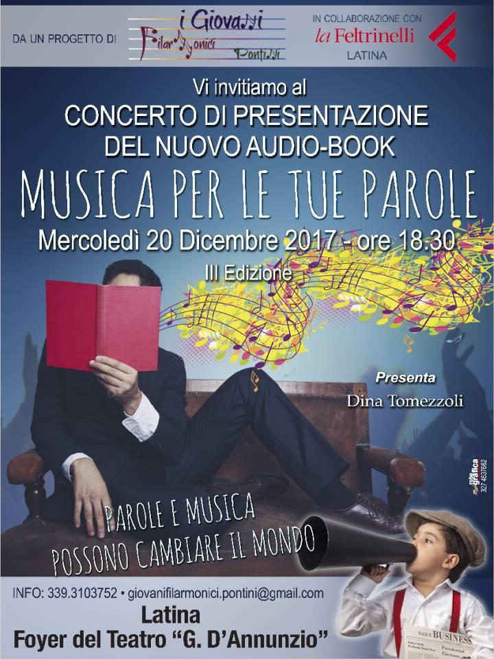 Locandina concerto 20 dicembre