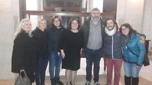 foto incontro con produttore e regista basco 9 dic 2017