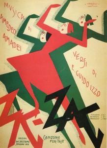 A Zig Zag Amadei ill Innocenzi Mignani Fi 1930