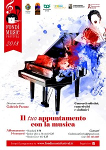 Manifesto Fondi Music Festival 2018