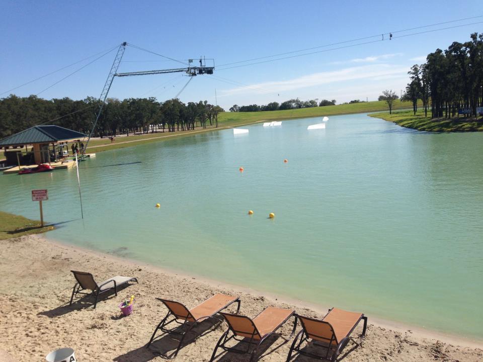 Cable Park, la casa degli sport acquatici a Latina