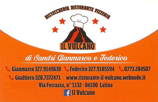 Bisteccheria Ristorante Pizzeria Il Vulcano Latina