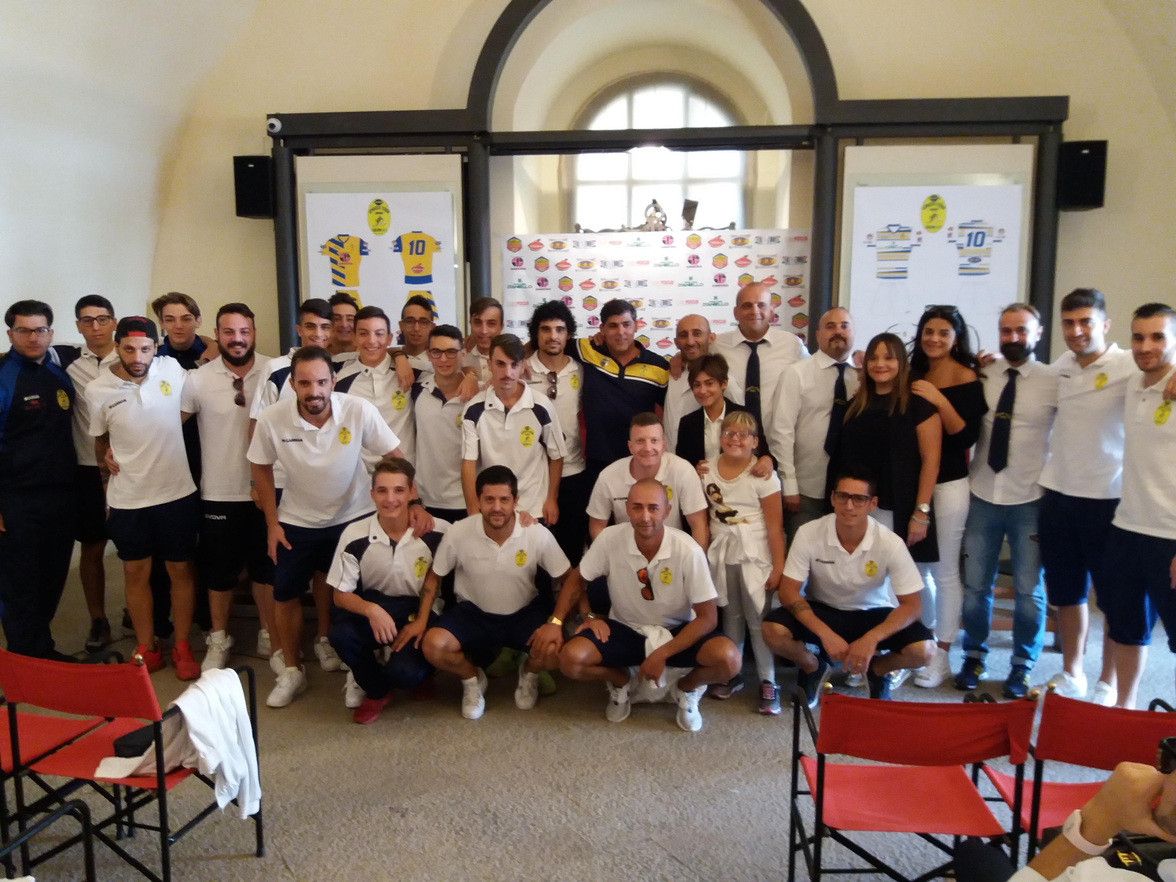 Castello Baronale: la presentazione ufficiale della Gymnastic Fondi Futsal