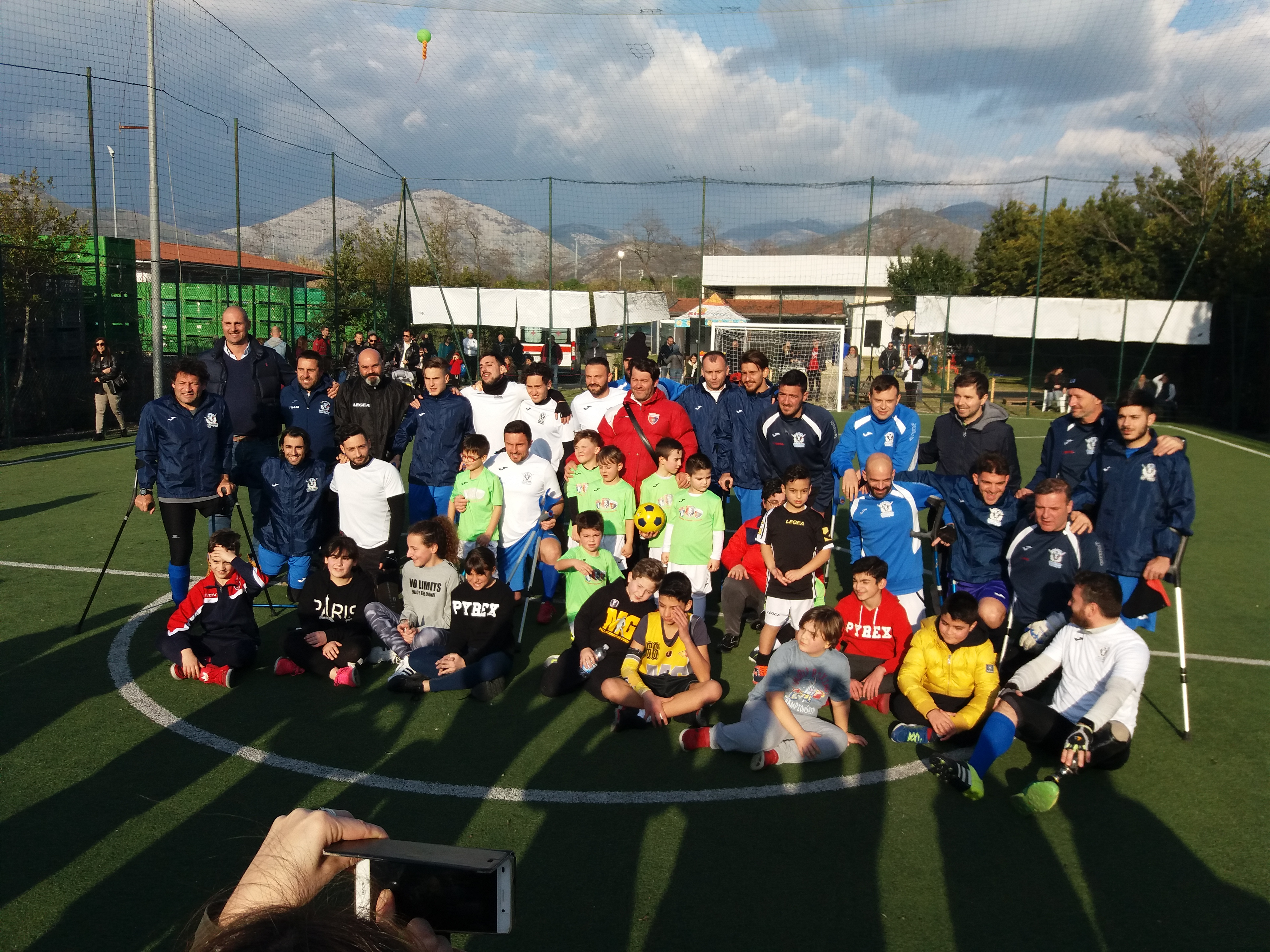 Nazionale di Calcio Italiana Amputati: Una grande giornata