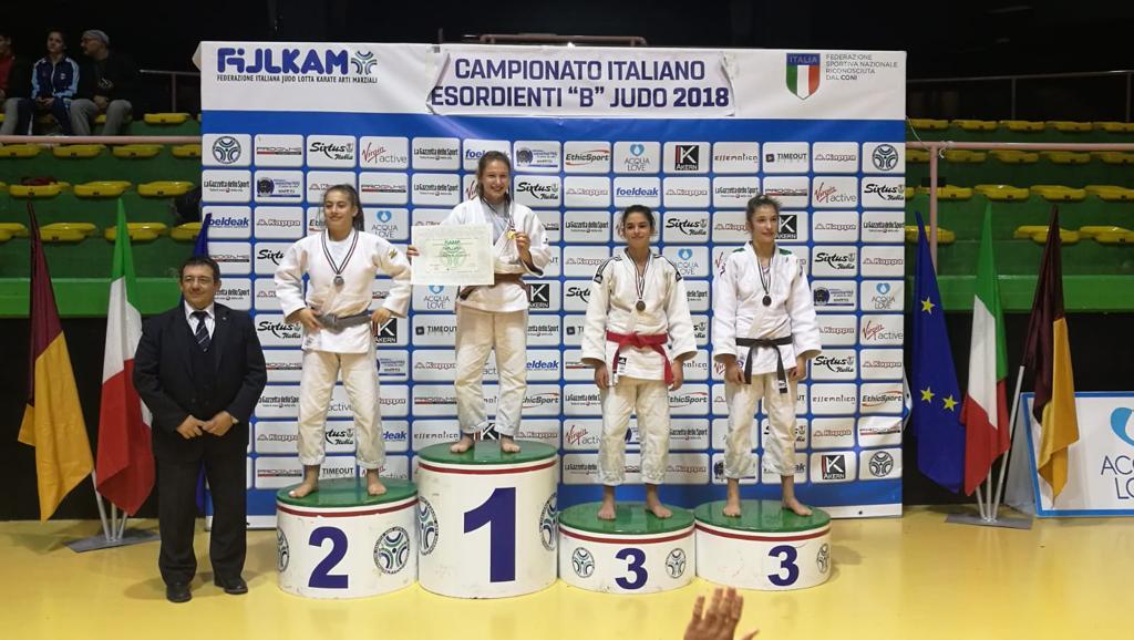 Gaia Stella è la neo campionessa italiana di Judo