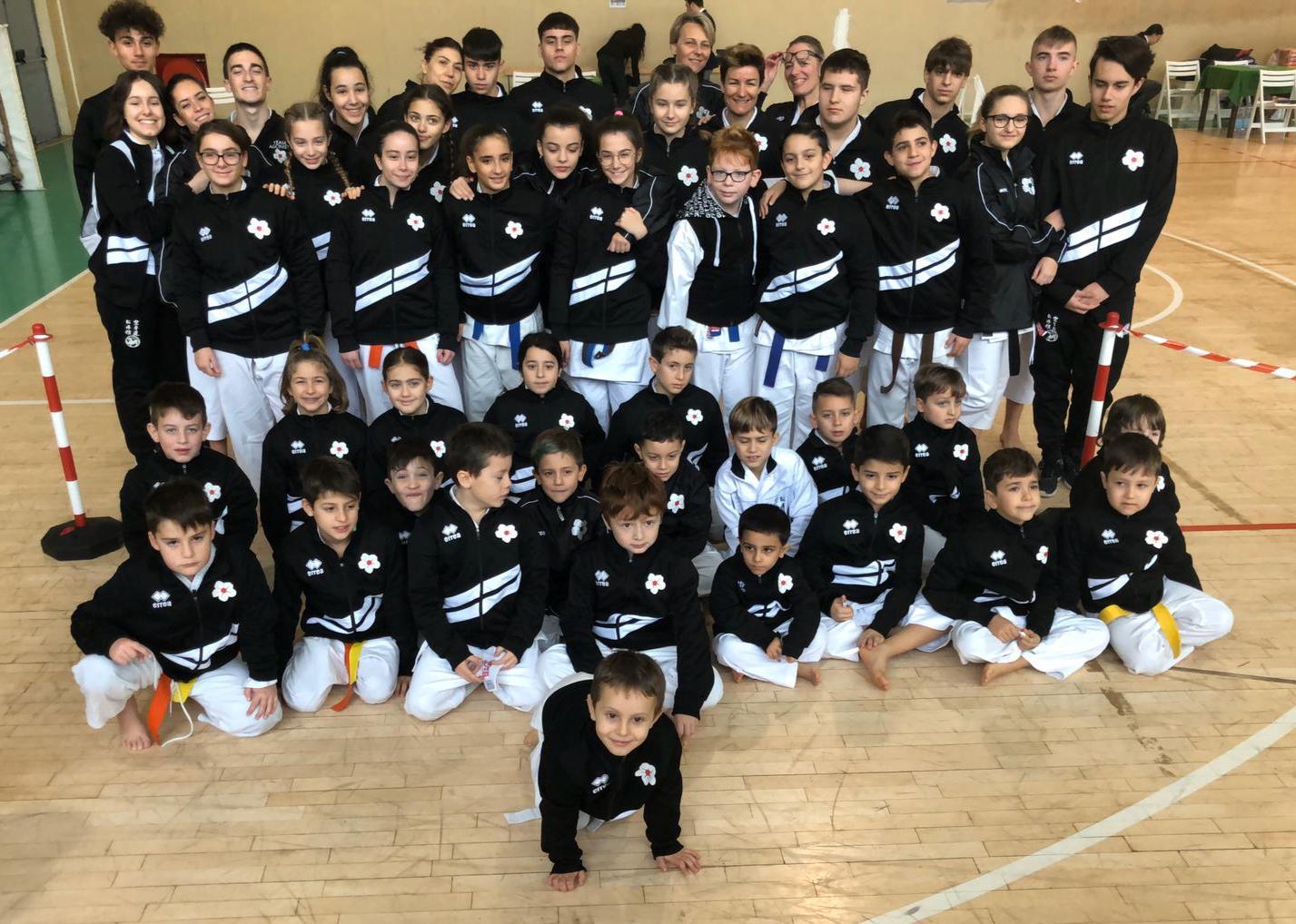Karate: Sakura Latina trionfa a Gaeta