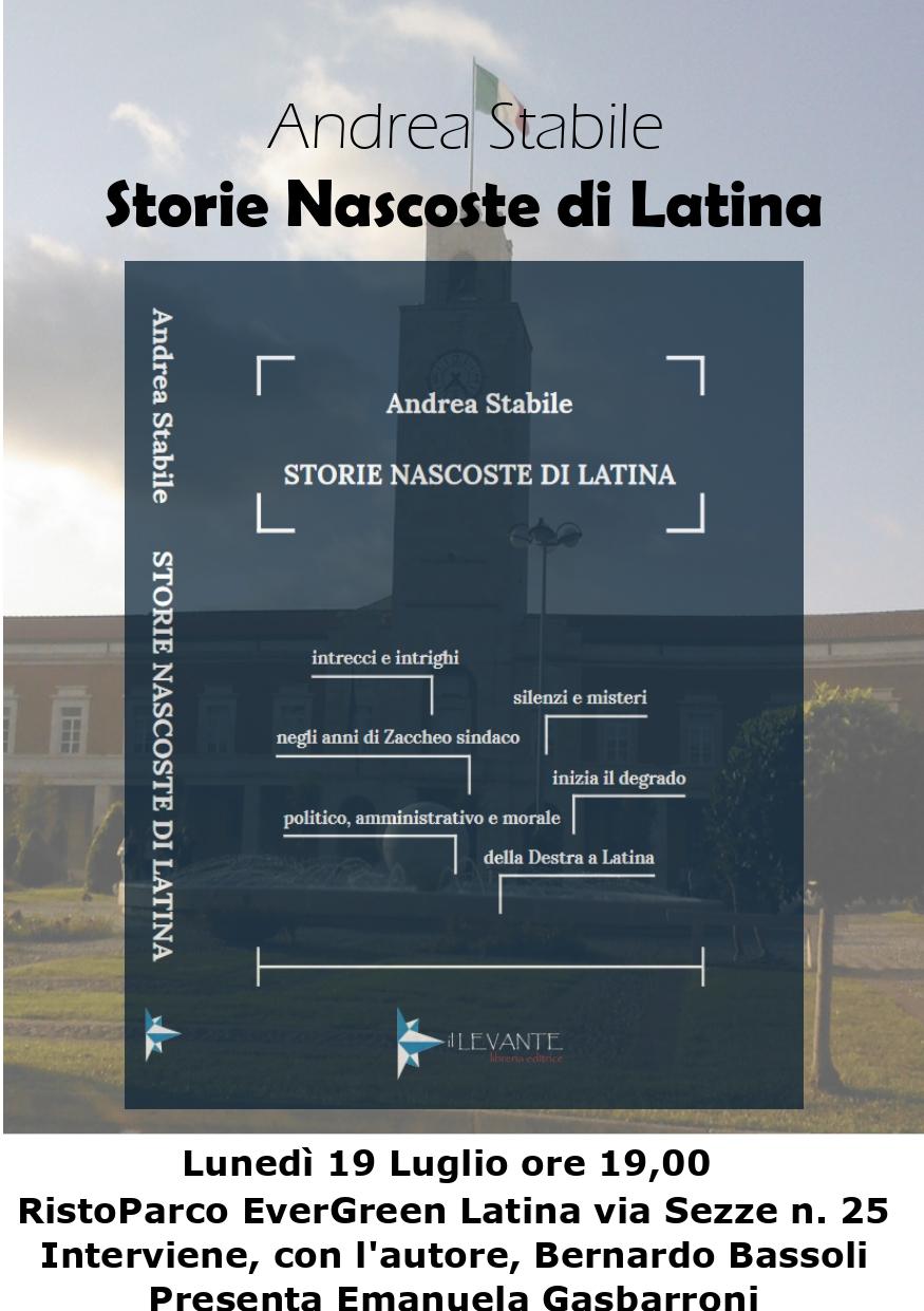 """Libri: """"Storie nascoste di Latina"""" di Andrea Stabile"""