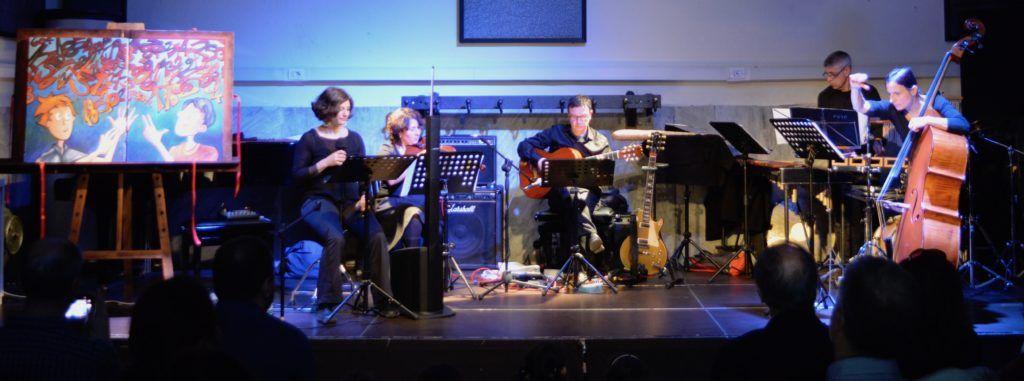 """Ecosuoni presenta """"Il Semaforo Blu"""", letture in musica con il Freon Ensemble."""
