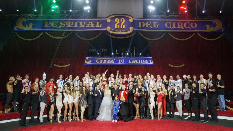 I vincitori della 22ª edizione del Festival Internazionale del Circo d'Italia